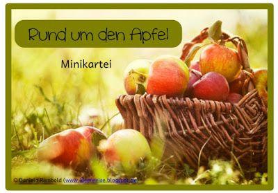 Minikartei zum Apfel - zum Herunterladen, auf Link klicken, dann weiter zu Dropbox Ordner