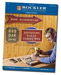 Free Rockler Woodworking Catalog Catalogs Pinterest