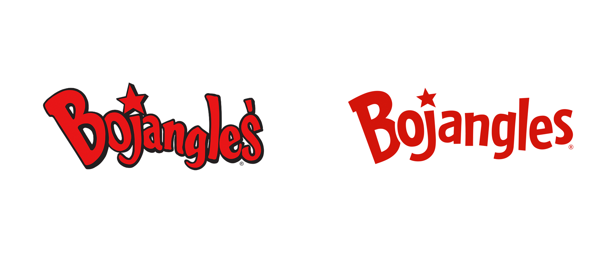 Brand New New Logo And Identity For Carl S Jr And Hardee S By 72andsunny Identity Logo Typography Branding Logo Evolution