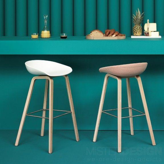 hay about a stool aas 32 barkruk gelakt 64 cm barkrukken krukken en keuken. Black Bedroom Furniture Sets. Home Design Ideas