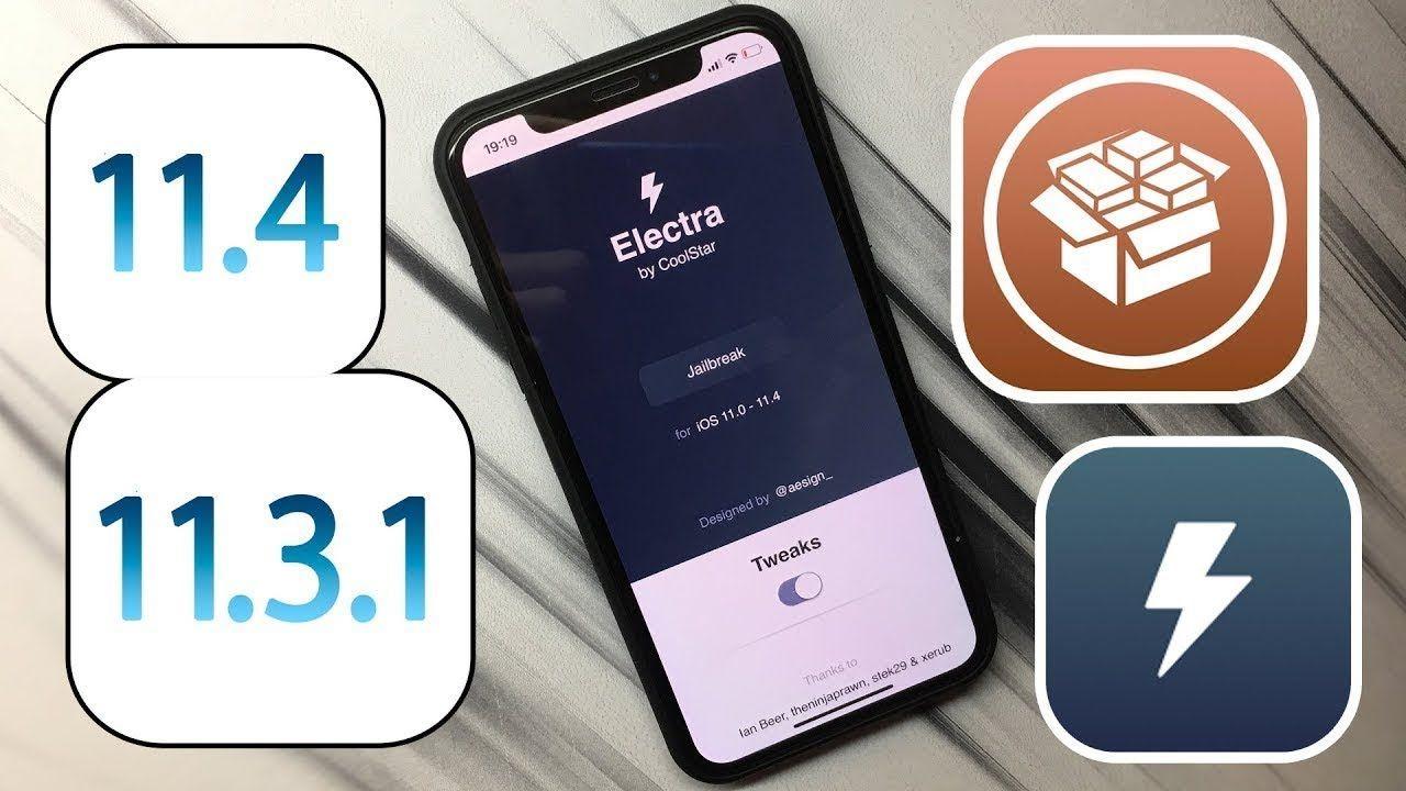 Jailbreak Electra 2 0 IPA Updated iOS 11 2 - 11 3 1 & 11 4