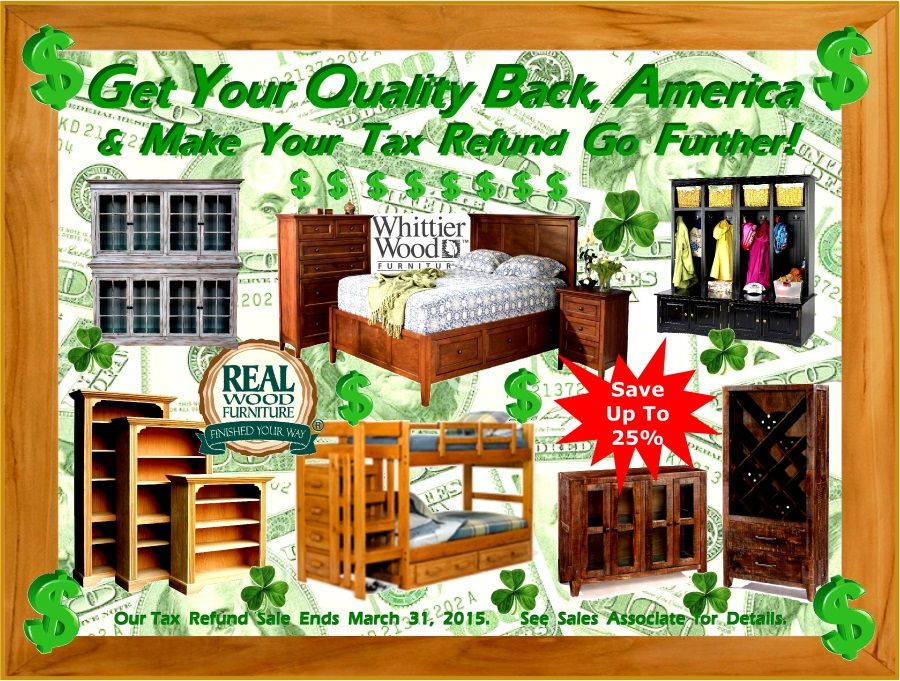 Real Wood Furniture At Bare Woods And Home Furnishings Chantilly