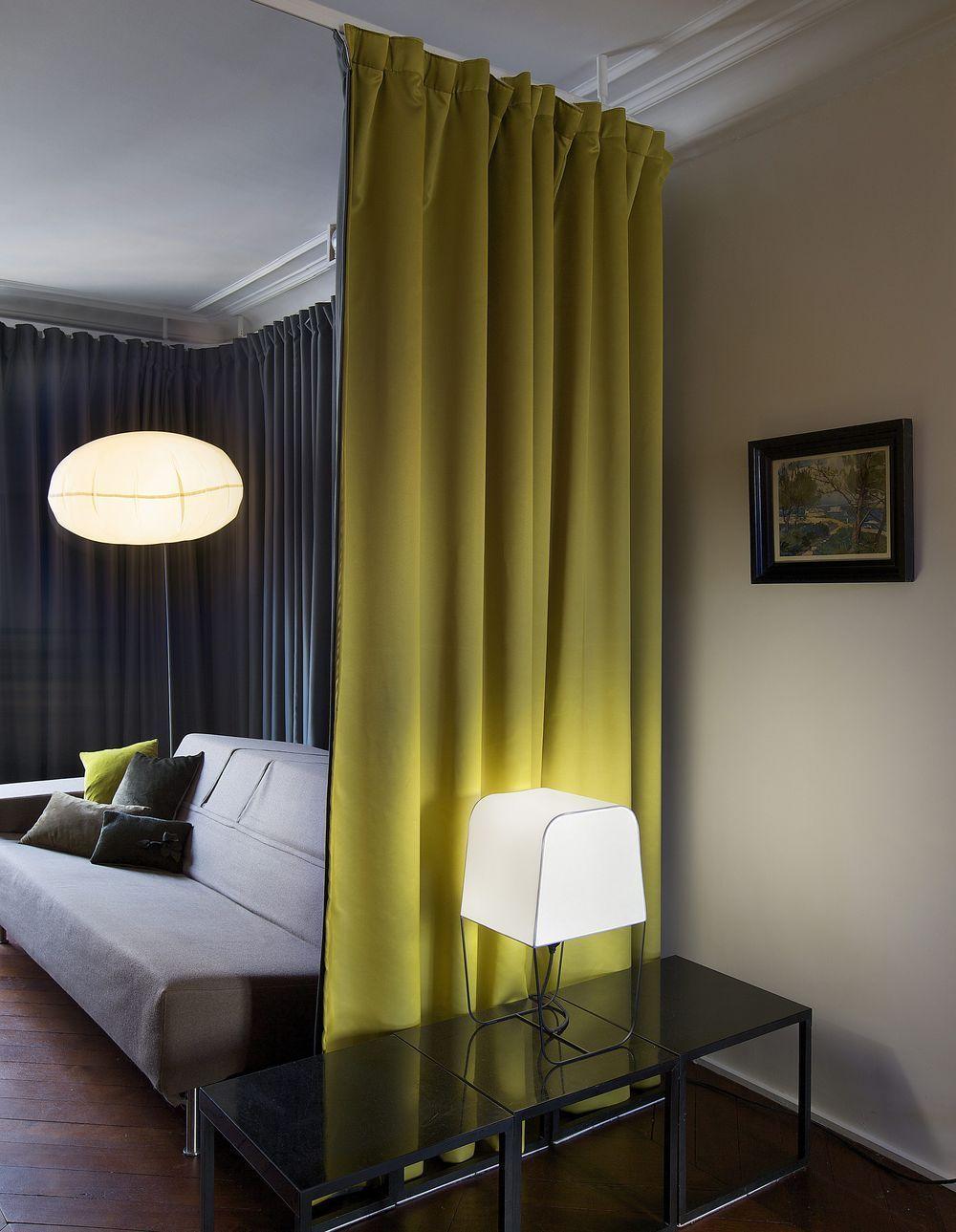 Un rideau pour organiser luespace roomdividercurtain room divider