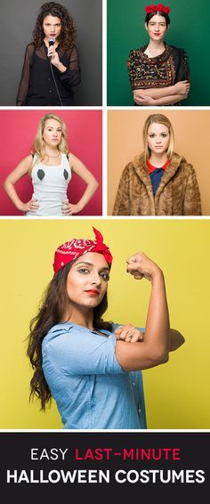 5 Genius Last-Minute Halloween Costumes Halloween costumes - halloween costume ideas for groups of 5