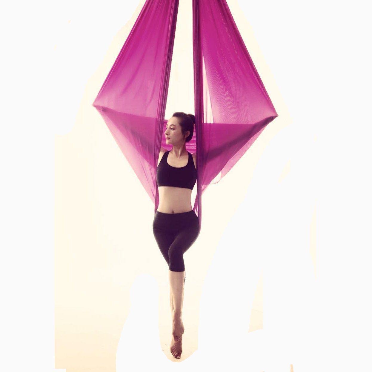 Amazon wellsem deluxe l yards w yard yoga flying swing