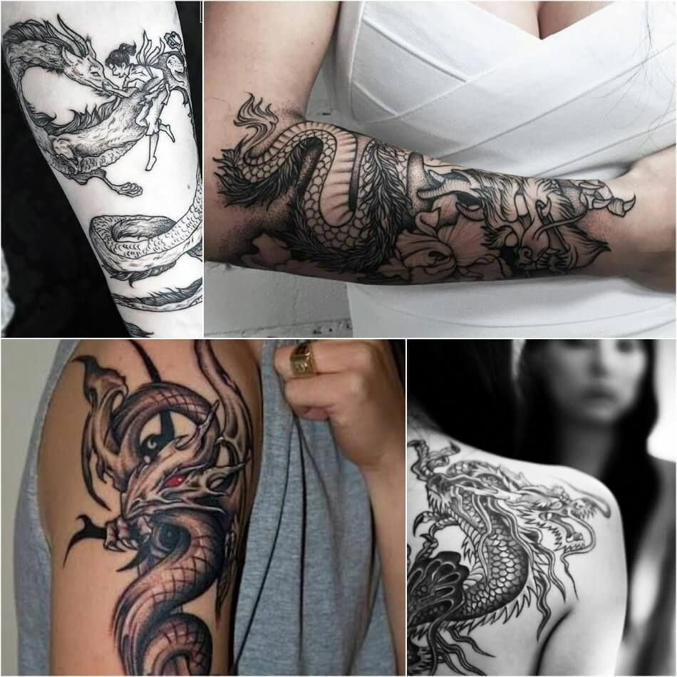 Dragon Tattoos Dragon Tattoos On Arm Dragon Tattoos Meaning Explore More Tattoo Ideas Dragon Tattoos For Men Dragon Tattoo For Women Dragon Tattoo Meaning