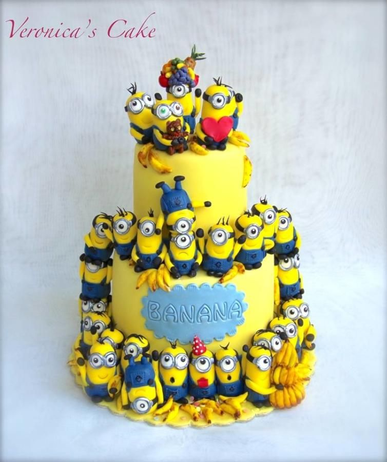 Remarkable 30Th Birthday Cake 30 Pieces Of Minions The Cake Is 10 Funny Birthday Cards Online Fluifree Goldxyz