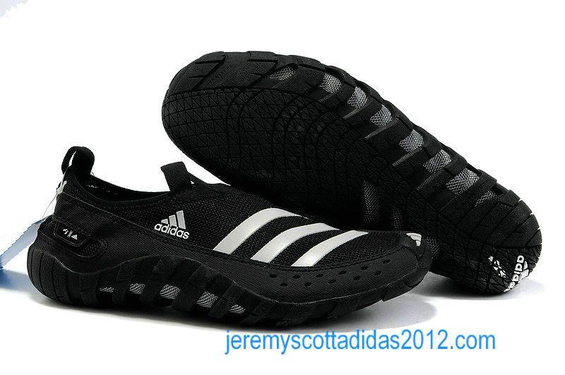 Adidas Jawpaw 2 2012 Black White Mens