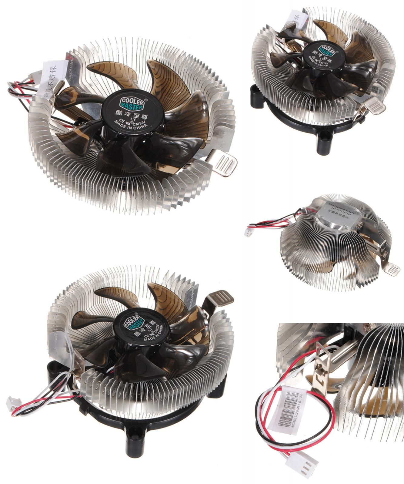 Visit To Buy 12v Silent Cooling Fan Cpu Heatsink Falcon Bench