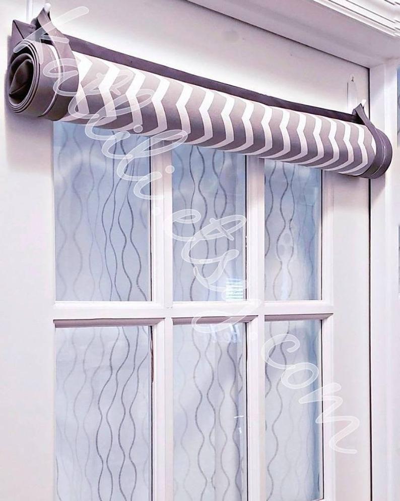 Roll Up Door Shade 0 12 W X 41 60 L Door Covers Glass Door Custom Curtains Door Curtain Front Door Panel Home Decor Roman Shades In 2020 Door Shades Front Doors