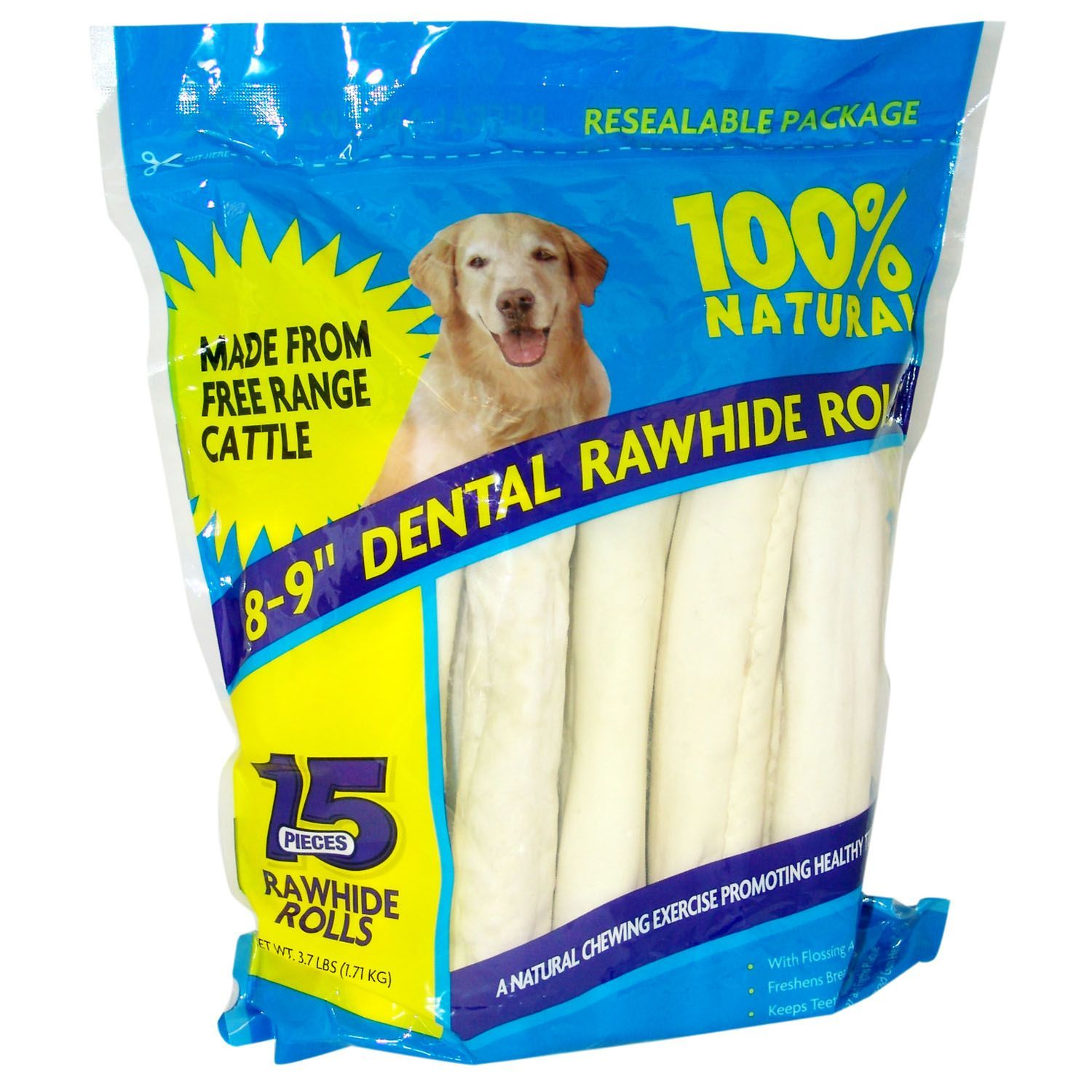 Rawhide Dental Rolls 15 Ct Sam S Club My Crew Love These