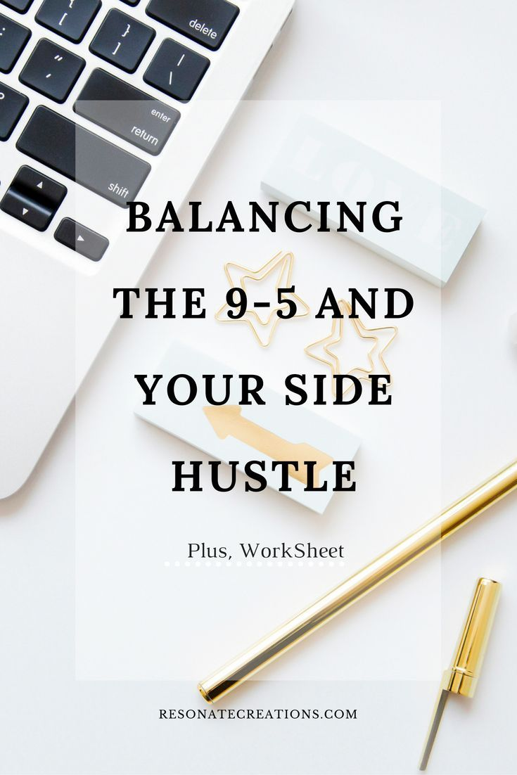 Balancing a full-time job and a side business can be tough ...