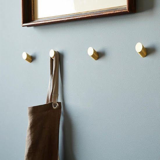Brass Round Wall Hooks Brass Wall Hook Decorative Hooks Decorative Wall Hooks