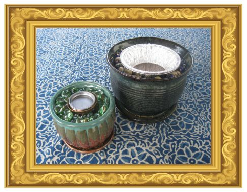 The Project Queen: Tabletop Fire Pots