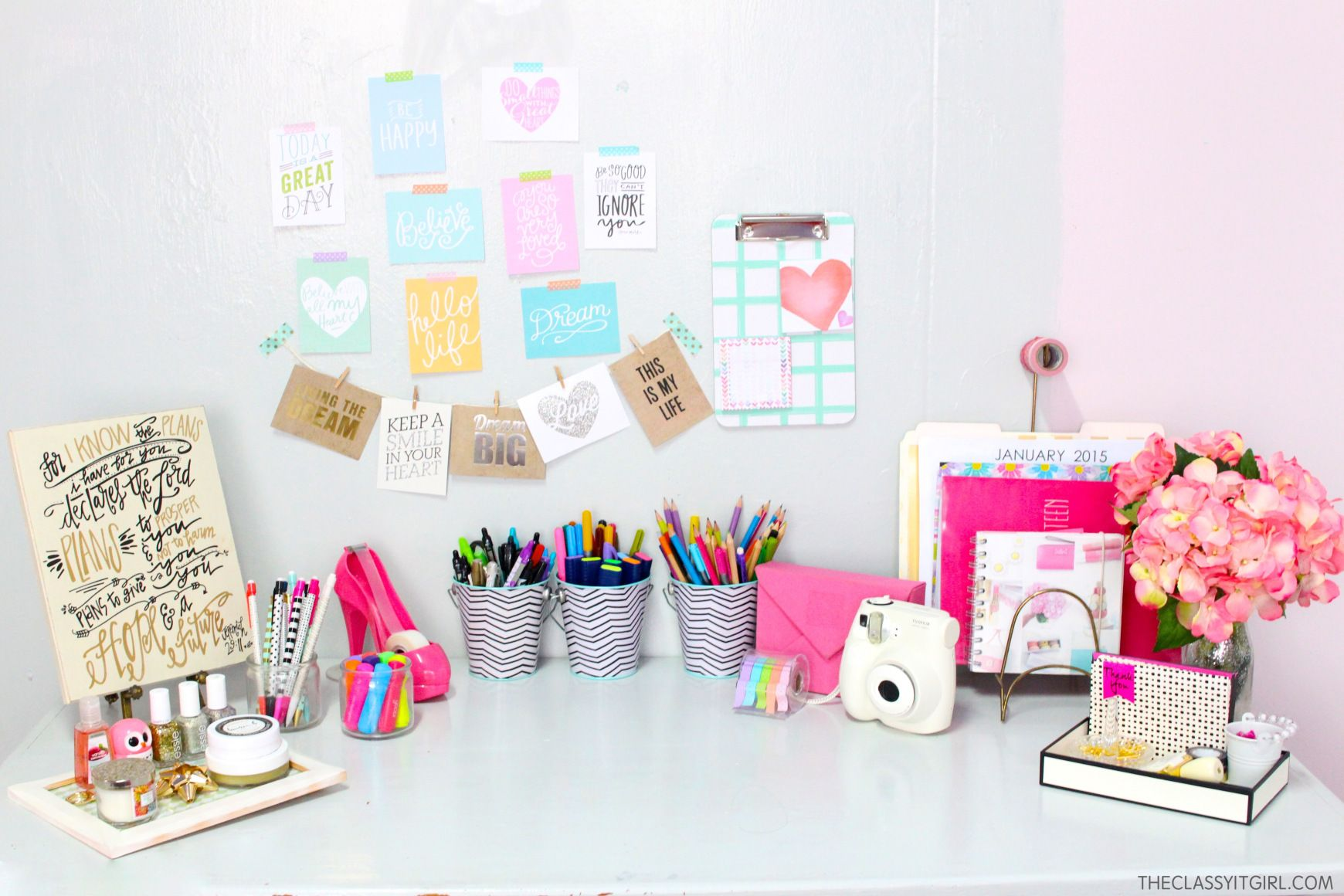 Diy Desk Organization Tips Desk Organization Diy Desk