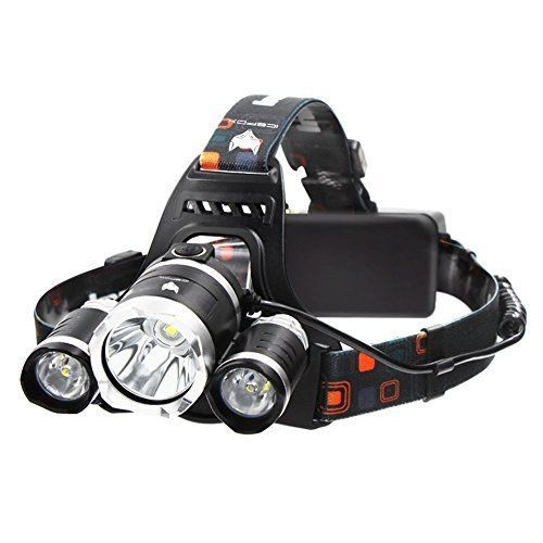 LED Stirnlampe, Icefox Super Helle LED Lampen, 6000 Lumen Wasserdichter  Scheinwerfer Mit 4 Helligkeits Modi. Perfekt Zum Laufen, Zum Campen, Zum  Wandern Und ...