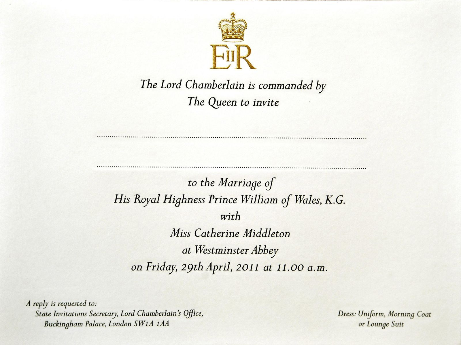 Here S Your First Look At Prince Harry And Meghan Markle S Wedding Invitations Royal Wedding Invitation Royal Invitation Kate Middleton Wedding