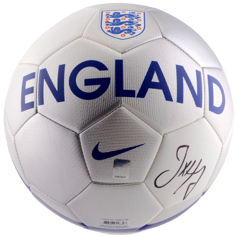 63cfefba9 Joe Hart England Autographed Logo Soccer Ball - Icons | Products ...