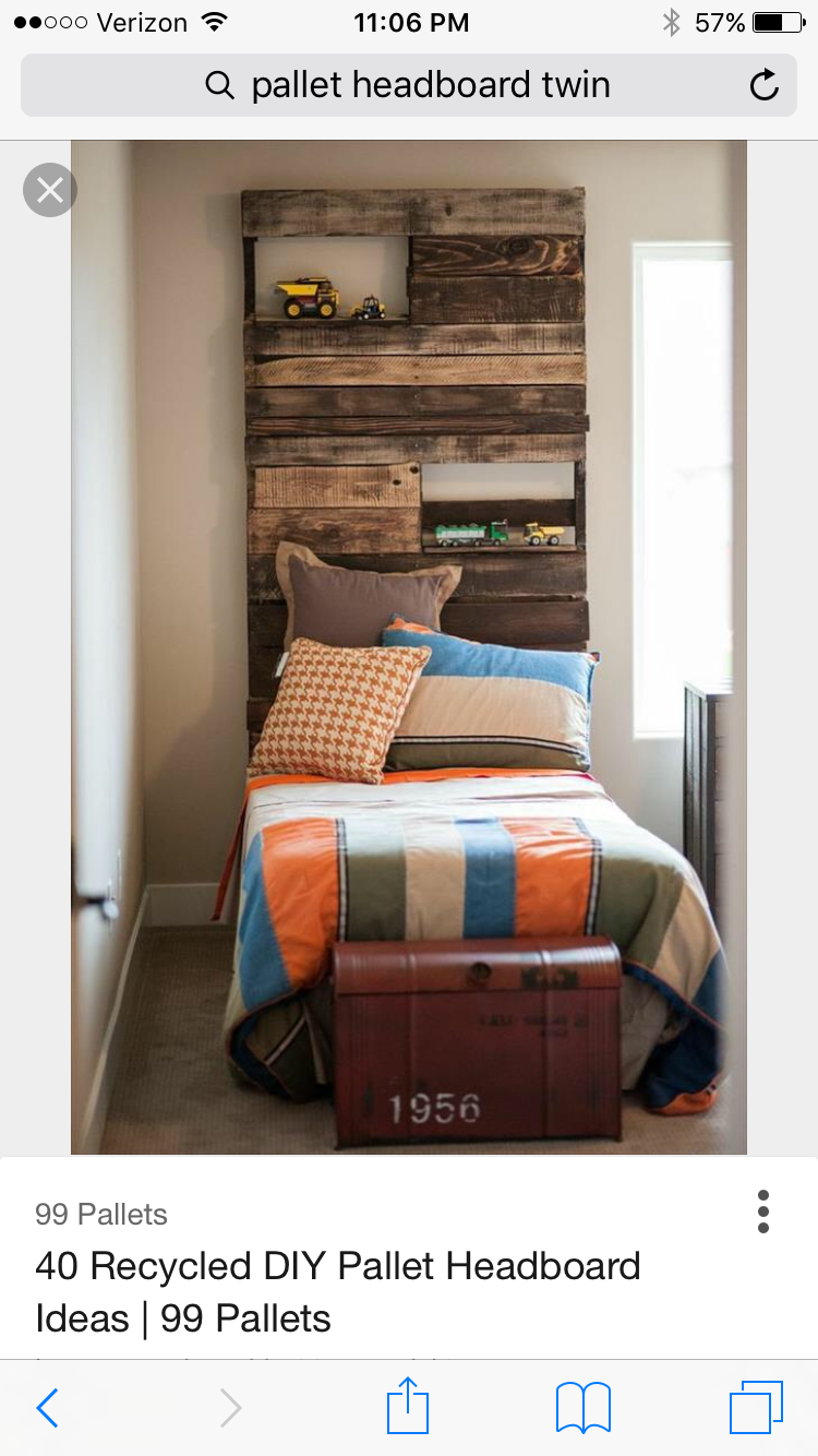 Barnwood Ideas, Pallet Ideas, Bedroom Decor, Pallets
