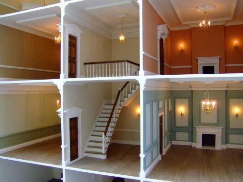 dolls house interior. Dolls house interior decorating  Miniatures Pinterest Doll