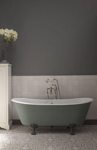 Inspiratie voor de klassieke badkamer: baden op pootjes | Klassieke ...