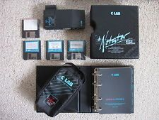 C-Lab Notator SL midi software for Atari 1040ste (with