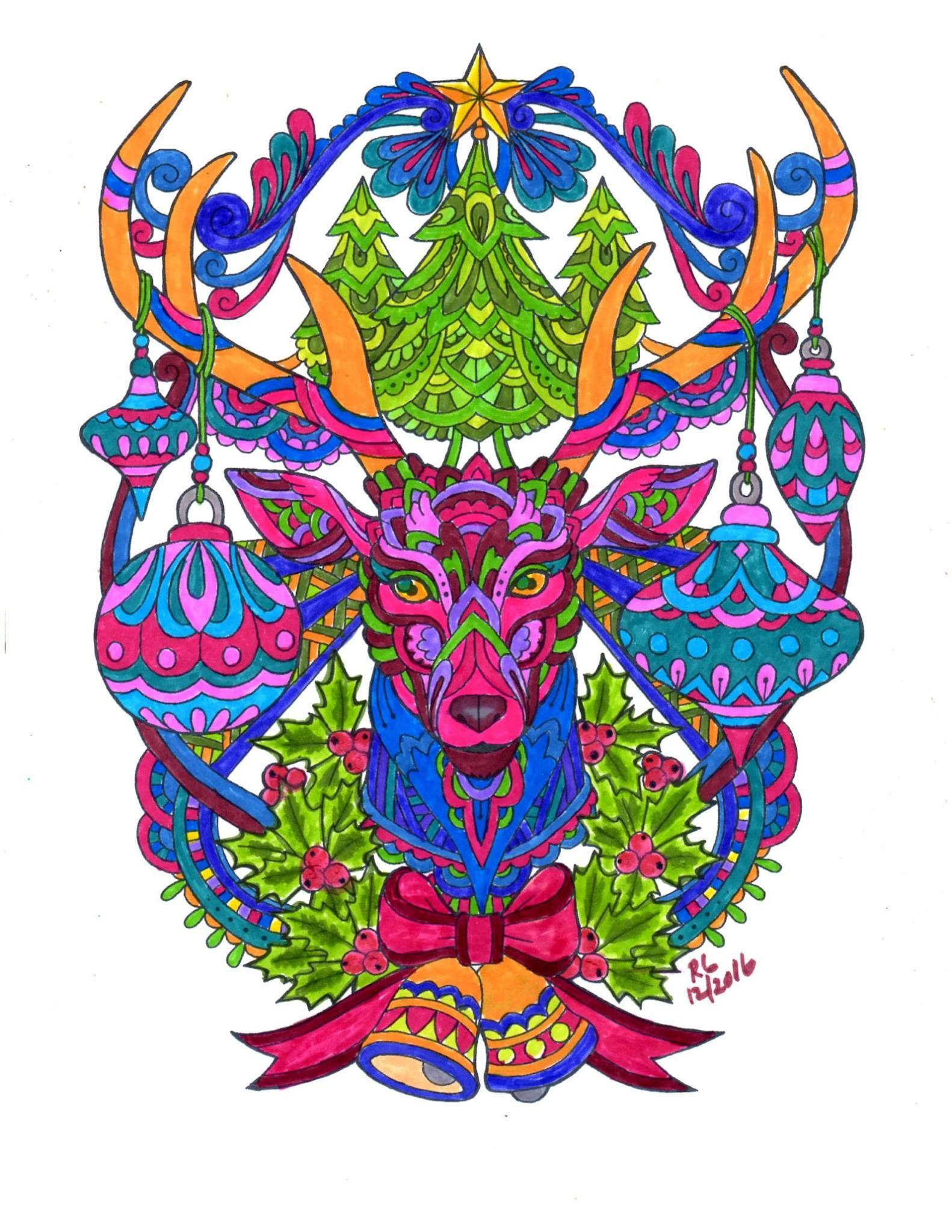 Bonito Páginas Para Colorear De Jánuca Imprimibles Galería - Dibujos ...