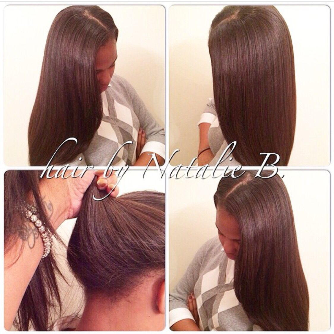 Most realistic looking sew ins in chicagolandrfect pony sew most realistic looking sew ins in chicagolandrfect pony sew natural haircarepony hairquick weave pmusecretfo Images