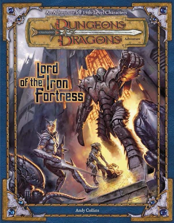 Lord Of The Iron Fortress 3e Book Cover And Interior Art For Dungeons And Dragons 3 Dungeons And Dragons Dungeons And Dragons Art Dungeons And Dragons Game