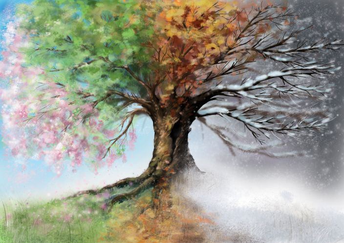 Pin By Nick Merisotis On Tattoos Tree Painting Canvas Tree Painting Tree Of Life Painting
