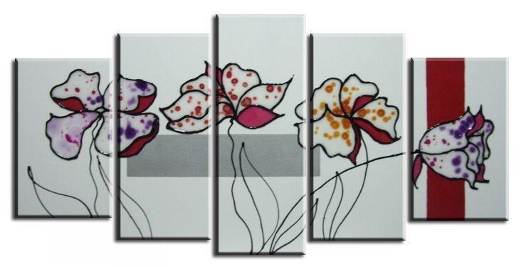 Cuadros flores dormitorios o salones cuadros pinterest - Cuadros para salones minimalistas ...