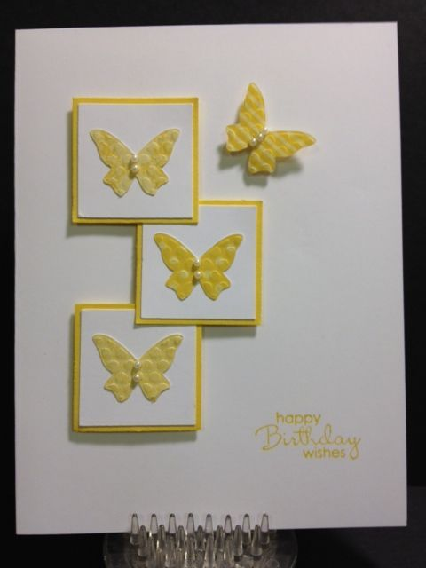 Card Making Ideas On Pinterest Part - 19: Pinterest Card Making Ideas | Saw This Card On Pinterest And Linked Up To  The Web
