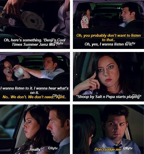 april ludgate and ben wyatt