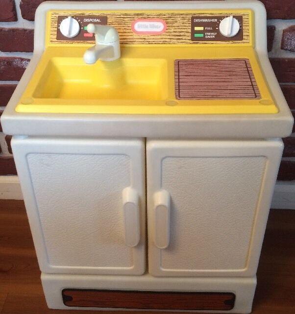 Vintage Little Tikes Kitchen Dishwasher Sink Little Tikes Weird Toys Vintage Toys