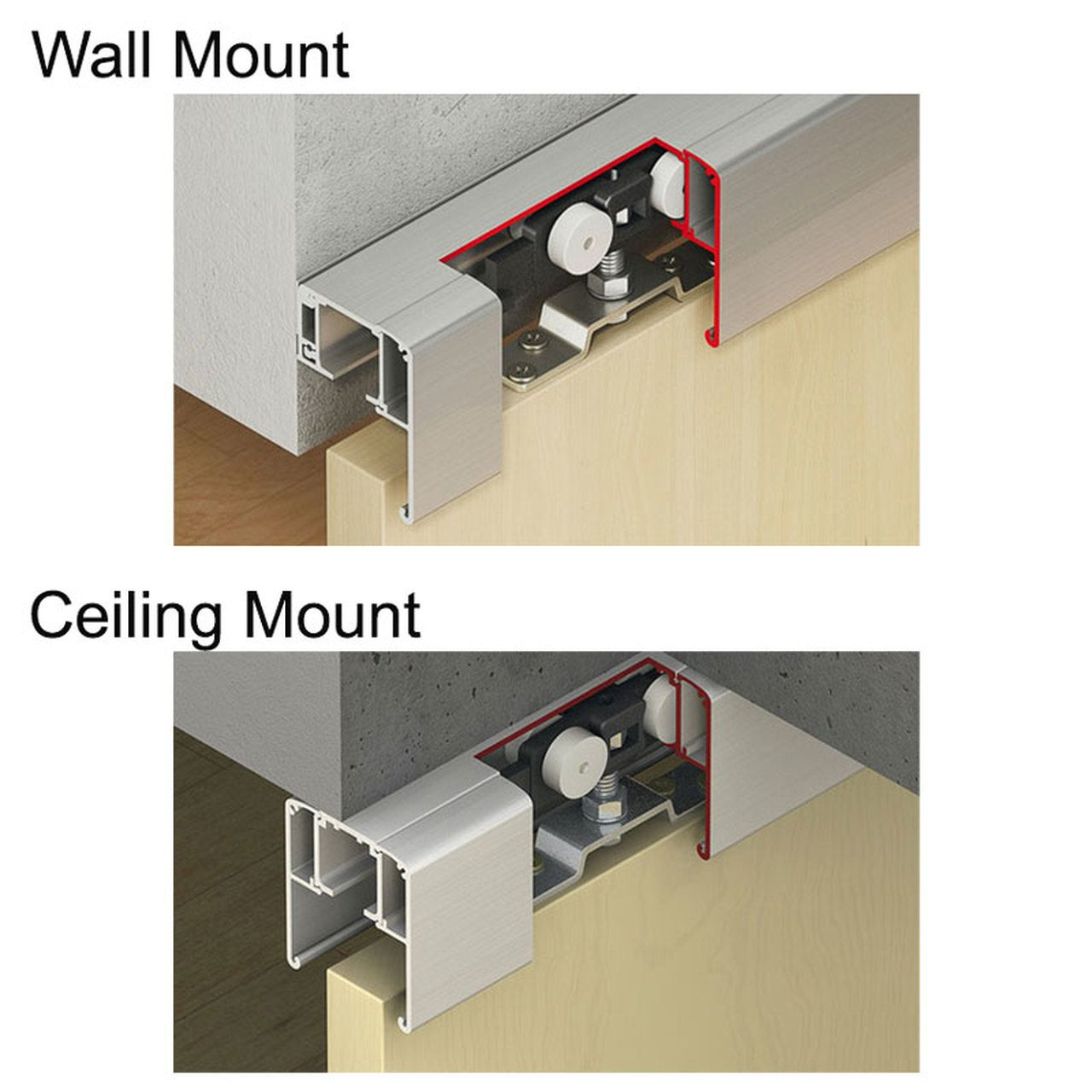 Hafele Slido Classic 120 Sliding Wood Door Kit 264 Lbs Max Door Weight In 2020 Sliding Wood Doors Wood Doors Door Fittings