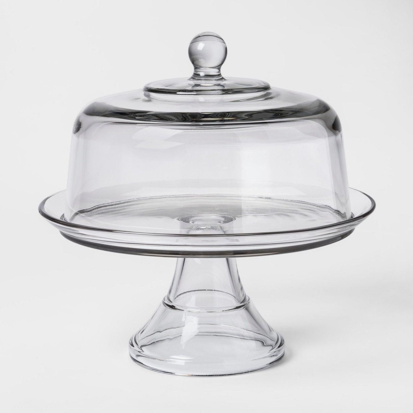 Cake Stands 177010 Classic Glass Cake Stand With Dome