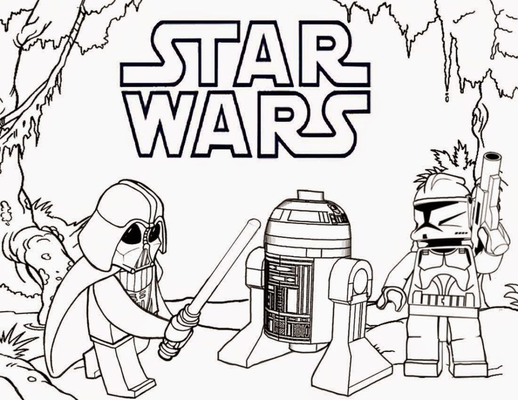 Lego Star Wars Coloring Pages Lego Coloring Pages Lego Coloring