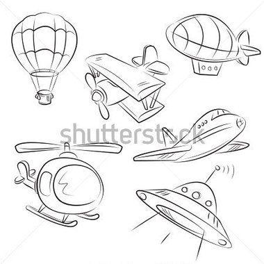 Tipos de traçado do transporte aéreo | Projetos para experimentar ...