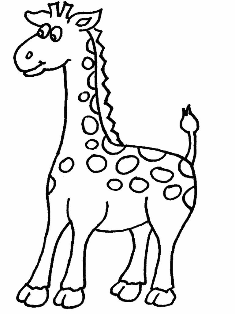 Girafa   dibuixos per calcar   Pinterest   Bordado
