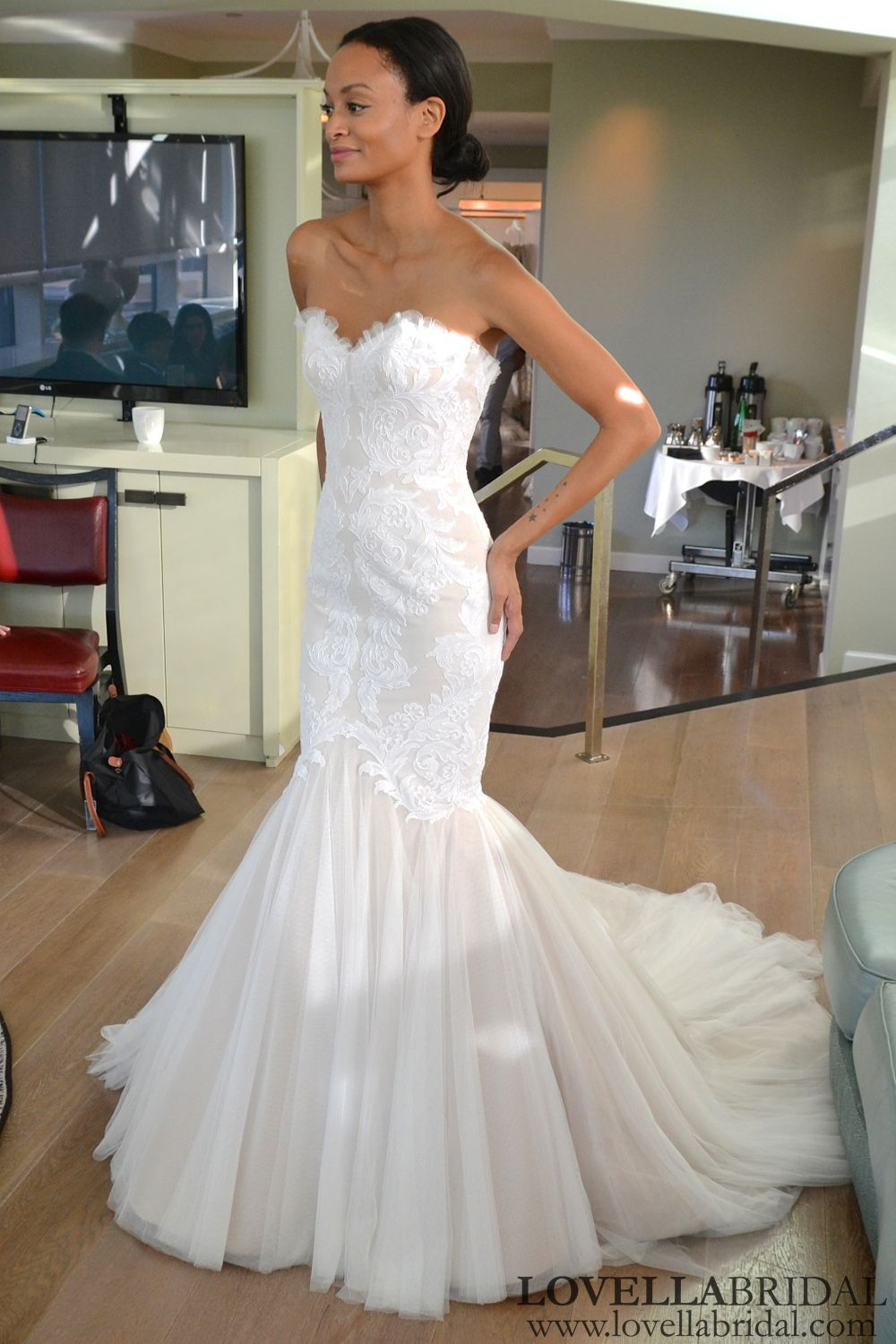 Ines Di Santo Airlia Size 6 Wedding Dress