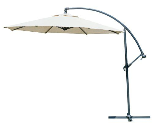Coolaroo 10 Foot Round Cantilever Freestanding Patio Umbrella Smoke Coolaroo Http Www Amazon Com Dp B000p7fuf8 Ref Cm S Patio Umbrellas Patio Umbrella Patio