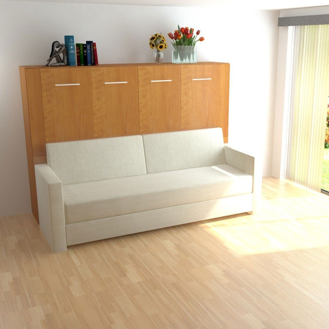Horizontal InLine Murphy Bed and InLine Sofa micro