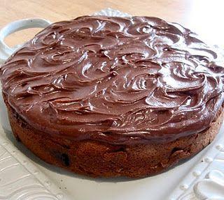 Dark chocolate peppermint pattie cake