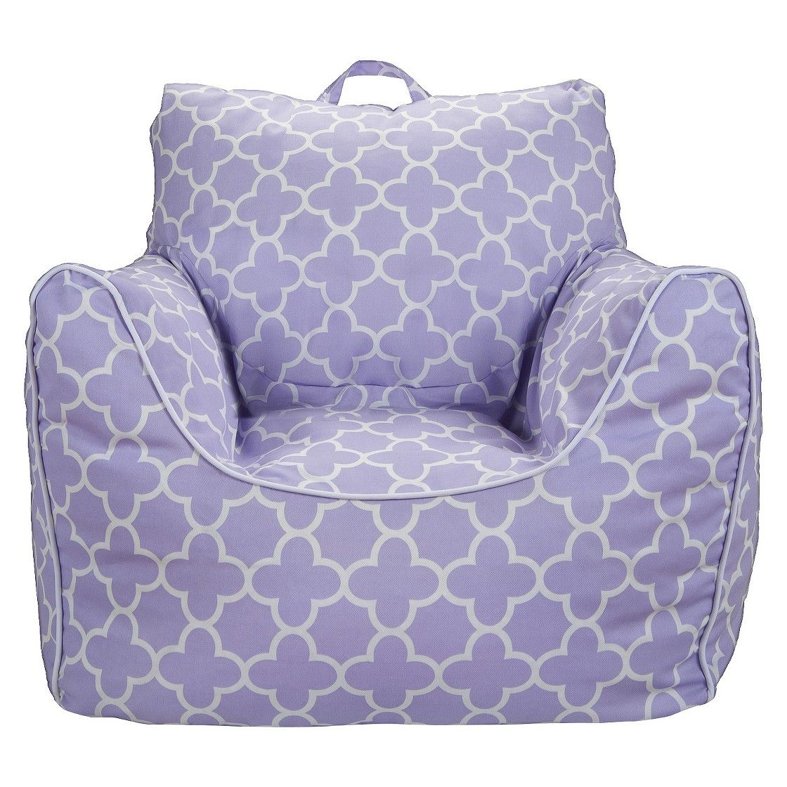 Circo Bean Bag Chair Lavender Quatrefoil With Removable