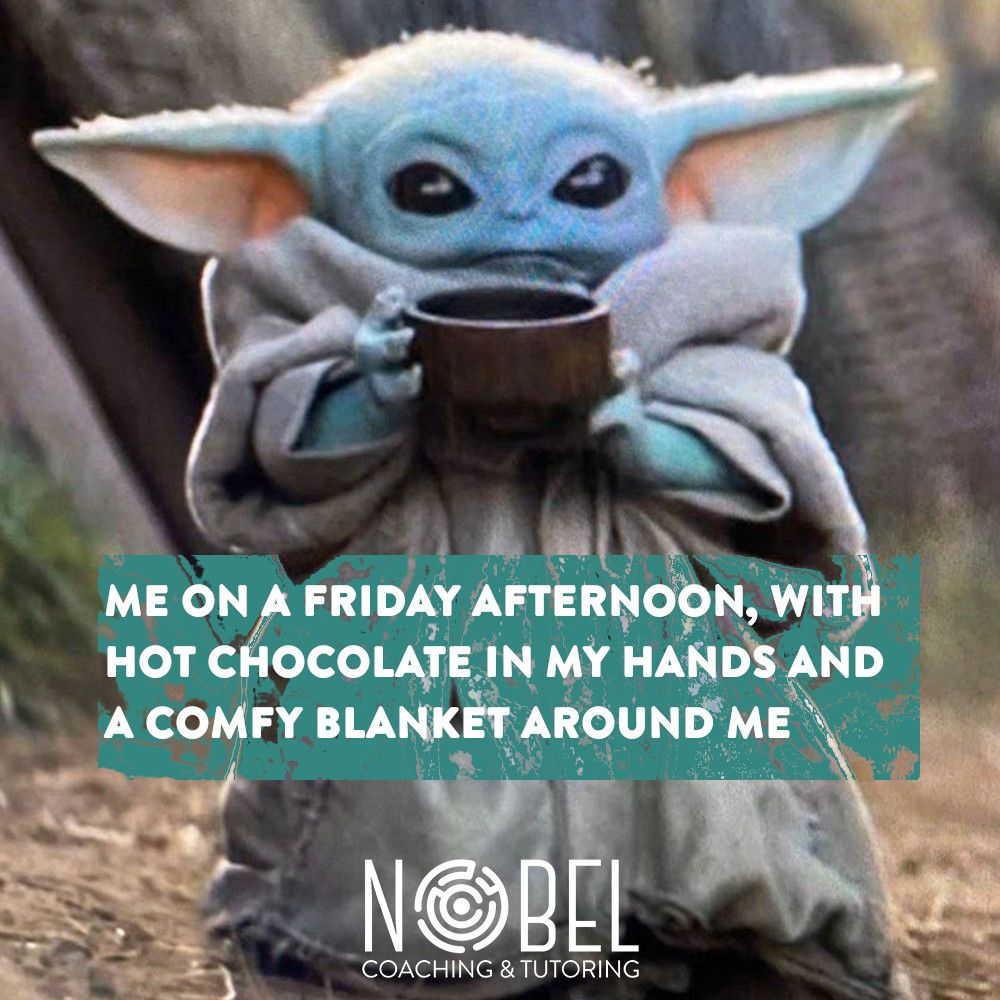 It S Friday Baby Yoda And The Nobel Team Are Wishing You A Lovely Weekend Babyyoda Fridaymeme Funny Humor Star Wars Pictures Friday Meme Yoda