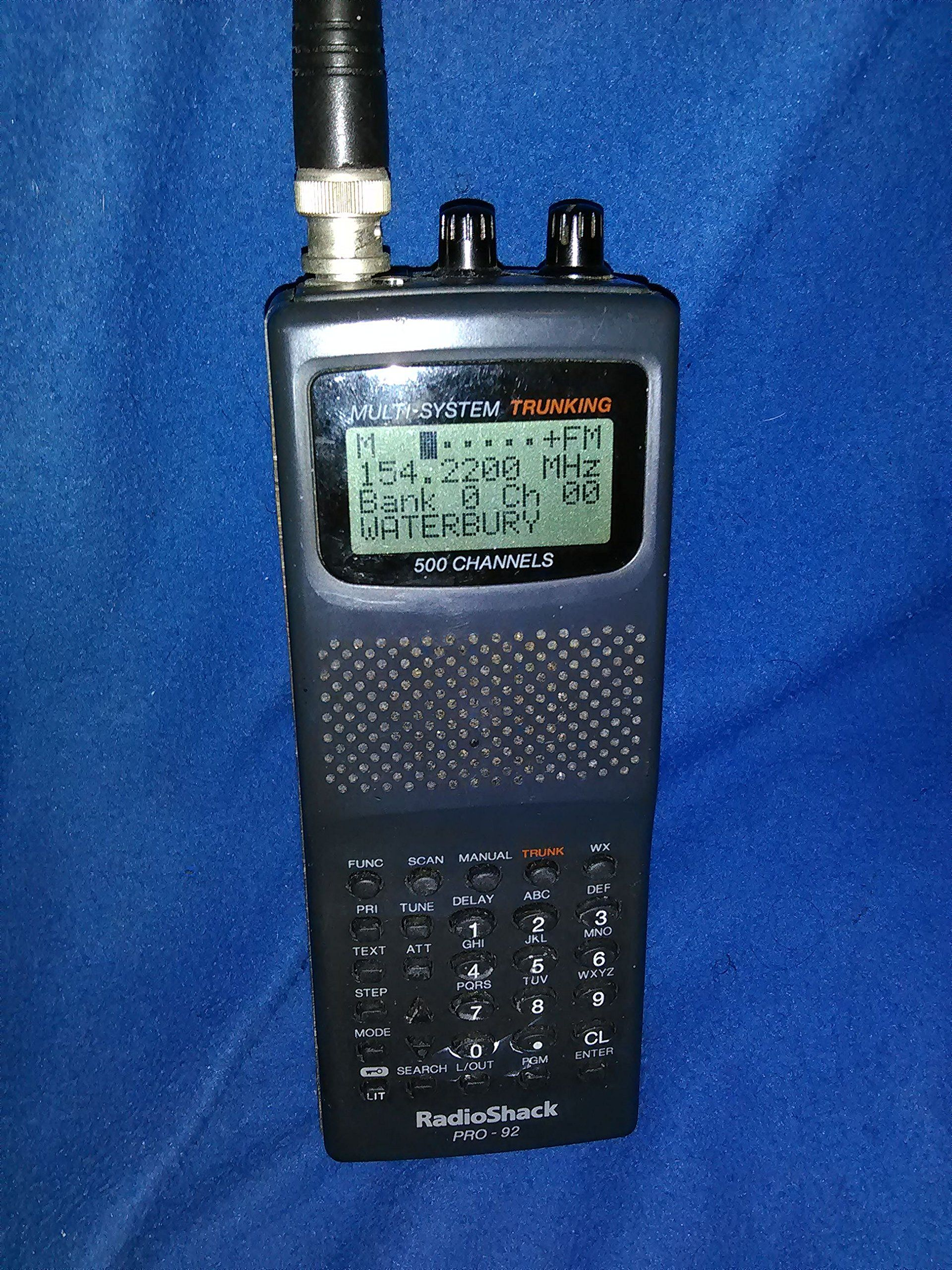 Radio Shack Pro 92 500 Channel Police Scanner | Radio