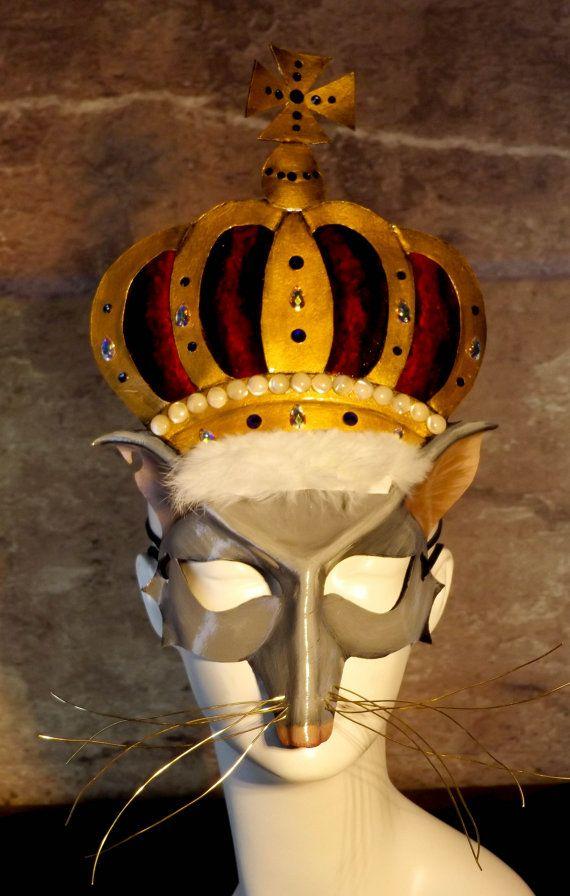 Rat King Leather Mask Fancy By Kmickel On Etsy Leather Mask Animal Theme Fancy Rat