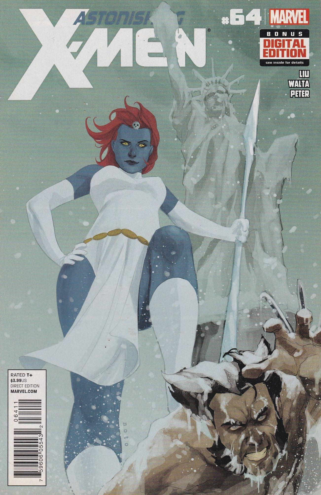 Astonishing X Men 64 Marvel Comics Vol 3 Marvel Comics Marvel X Men