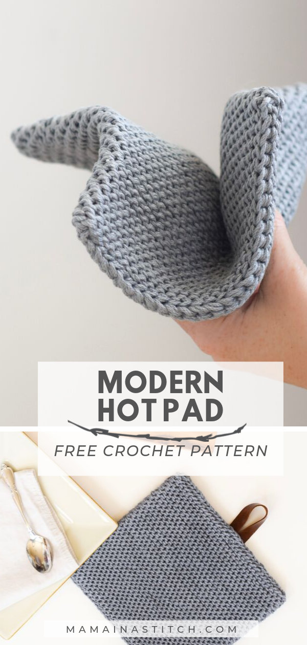 Modern Thick Hot Pad