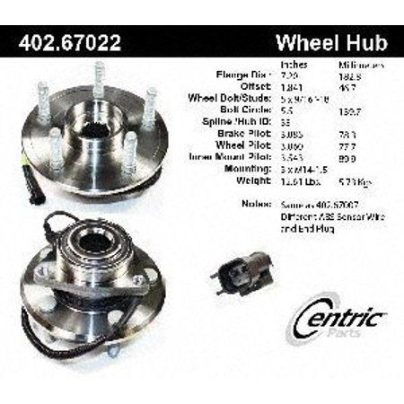 Centric Parts Hub Assembly Walmart Bike Components 3rd Wheel